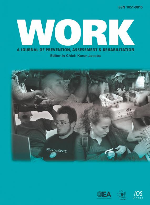WORK: A Journal of Prevention, Assessment & Rehabilitation